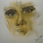 gelbe Frau c